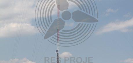 ResProje_Rüzgar Ölçüm Direği